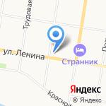 Российский Alepн на карте Благовещенска