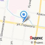Амурская государственная медицинская академия на карте Благовещенска