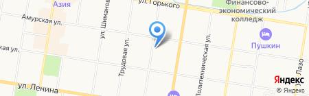 ЛОМБАРД-КРИСТАЛЛ на карте Благовещенска