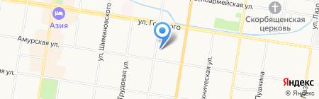 Портал на карте Благовещенска