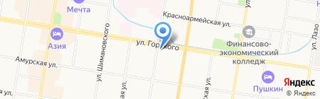 A kildare pub на карте Благовещенска
