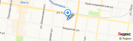 SimФония на карте Благовещенска
