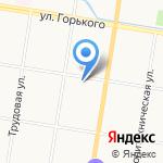 Почтовое отделение №9 на карте Благовещенска