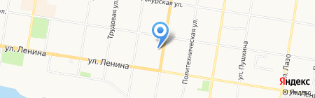 Нотариус Янковская Т.В. на карте Благовещенска