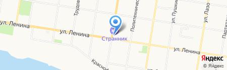 Ультра на карте Благовещенска