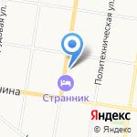 Амурская областная станция переливания крови на карте Благовещенска