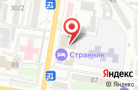 Схема проезда до компании На Цареве в Астрахани