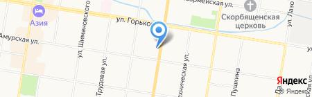 Промоушн ДВ на карте Благовещенска
