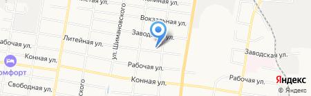 Луноходик на карте Благовещенска