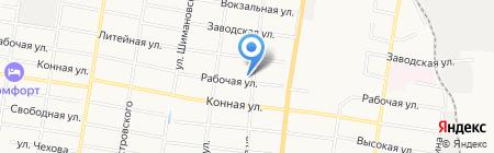 Rockpaint на карте Благовещенска