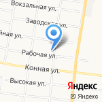 Автолюбитель на карте Благовещенска