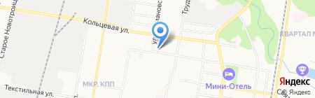 Школа-интернат №8 на карте Благовещенска