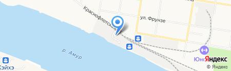 Транспортная полиция г. Благовещенска на карте Благовещенска