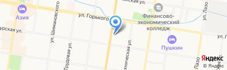 Амурбетонсервис на карте Благовещенска