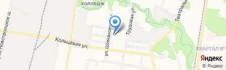 Компания грузоперевозок на карте Благовещенска