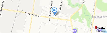 АЗС НК Альянс на карте Благовещенска