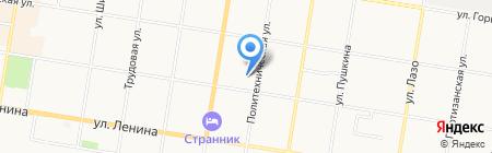 Детский сад №50 на карте Благовещенска