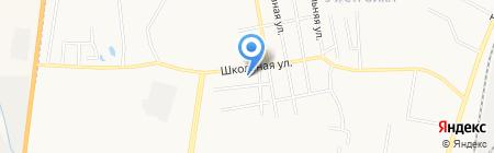 Восток на карте Благовещенска