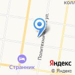 Детский сад №50 г. Благовещенска на карте Благовещенска