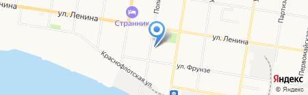 Политехник на карте Благовещенска