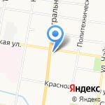 Благовещенский районный суд Амурской области на карте Благовещенска