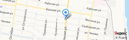 Аистёнок на карте Благовещенска