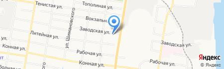 Армана на карте Благовещенска