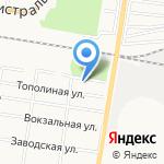 Компания по аренде крана-манипулятора и экскаватора на карте Благовещенска
