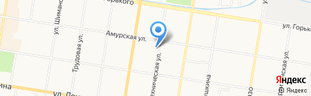 Мармелад на карте Благовещенска