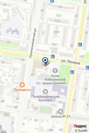 KlassiK на карте Благовещенска