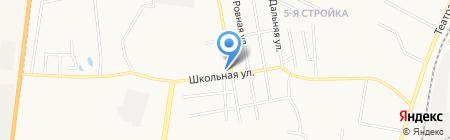 Авторемонтная мастерская на Песчаной на карте Благовещенска