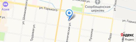 Общежитие на карте Благовещенска