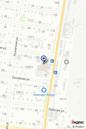 OneTwoRent на карте Благовещенска