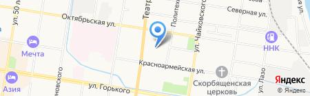 Банкомат Банк ВТБ 24 на карте Благовещенска