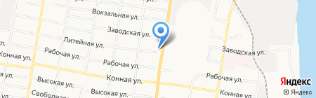 Колор АвтоЭМ на карте Благовещенска
