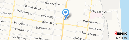 Джоконда на карте Благовещенска