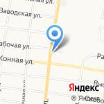 Амурэлектромонтаж на карте Благовещенска