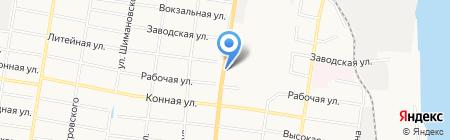 Мир аккумуляторов на карте Благовещенска
