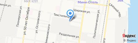 Автомойка самообслуживания на карте Благовещенска