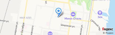 Центр заточки инструмента на карте Благовещенска