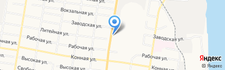 РМ трейд на карте Благовещенска