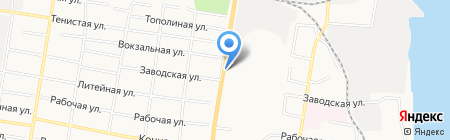 Магазин столярных изделий на карте Благовещенска