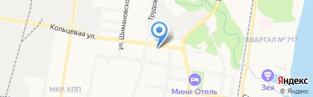 АвтоДок на карте Благовещенска
