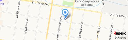 Миницен на карте Благовещенска