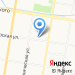 ТОНУС-КЛУБ на карте Благовещенска