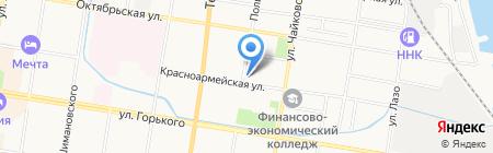 Интер-Сервис-Амур на карте Благовещенска