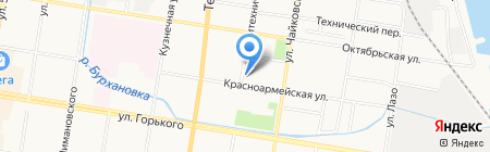 Русский градус на карте Благовещенска