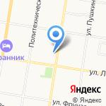 Почтовое отделение №25 на карте Благовещенска