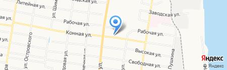 Автоэкспресс на карте Благовещенска