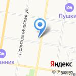 Административный участок №12 на карте Благовещенска